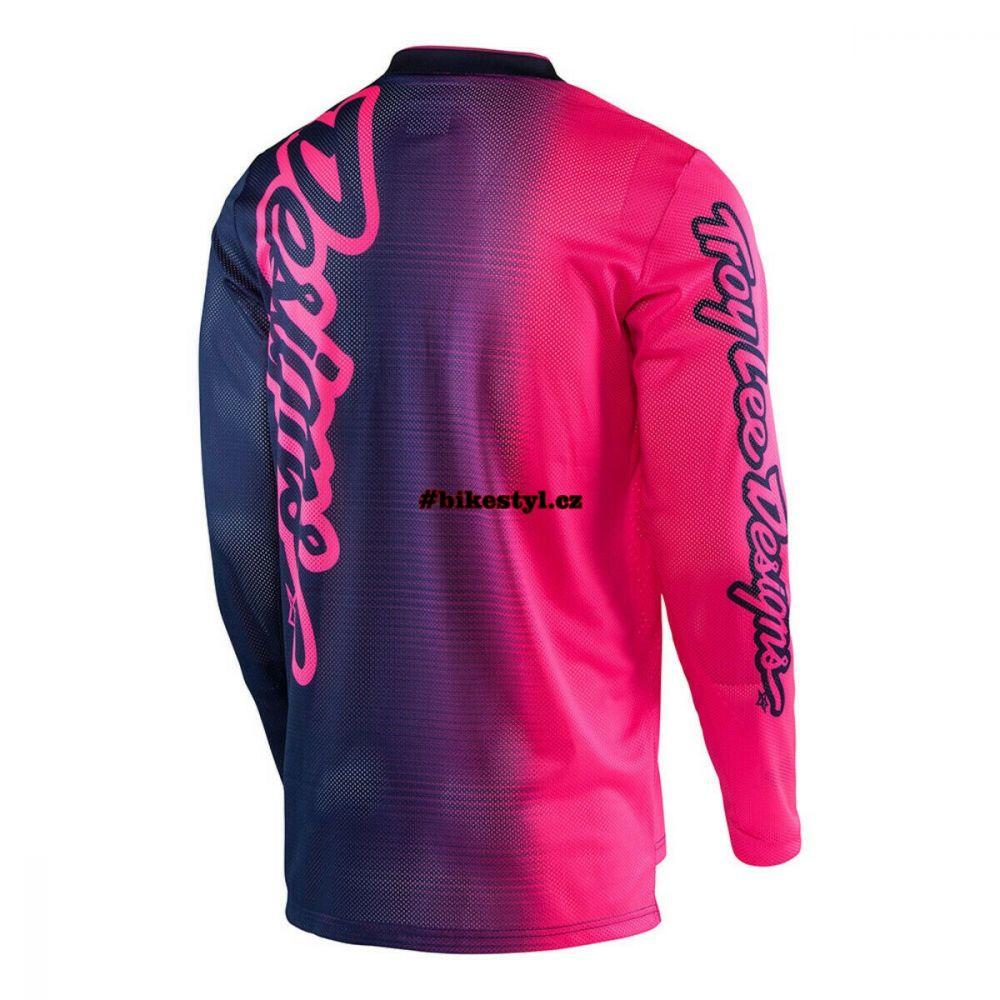 Troy Lee Designs dres GP Air Navy-pink XL