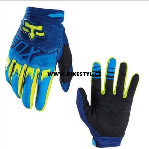 Fox Racing Dirtpaw 2017 rukavice Blue-Yellow XL  7f2624ad80