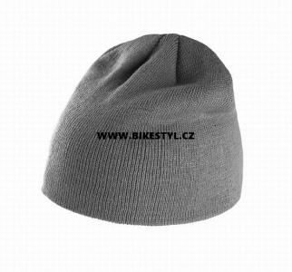 ... Zimní pletená čepice dětská grey a6a4b2495f