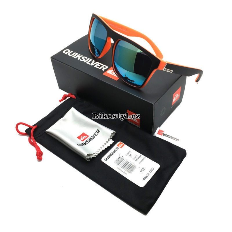 Quiksilver sunglasses orange